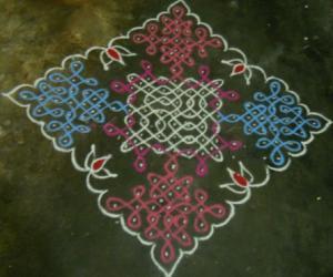 Rangoli: Sikku Kolam - 57
