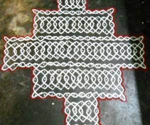 Rangoli: Sikku Kolam - 58