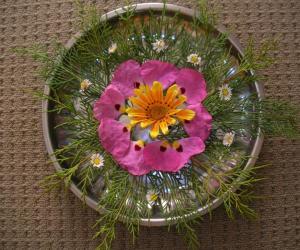 flower arrangement for diwali
