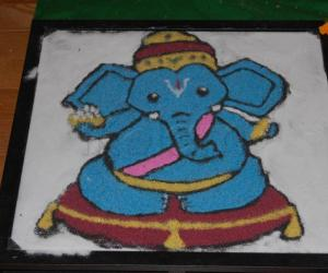 Rangoli - Our Golu 2010