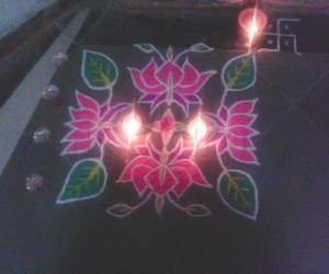 Rangolidone on Bhai Dujh