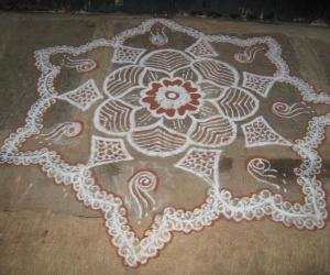 Pongal Kolam - 2