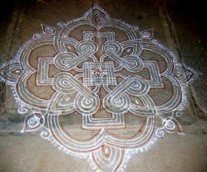 Old kolam from my old file
