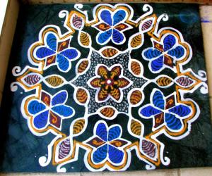 Modified old kolam