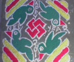 Rangoli: Old rangoli