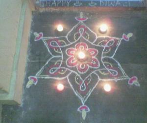 Deepavali Kolam