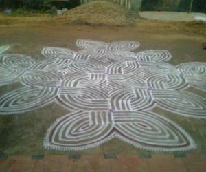 Rangoli: bogi kolam