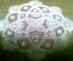 Kuzhal Kolam
