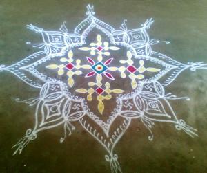 Marghazhi Kolam - 19