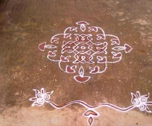 Rangoli: Diwali Kolam