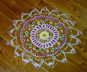 Embroidery kolam 3