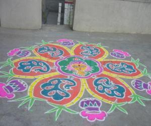 Sankranthi muggu