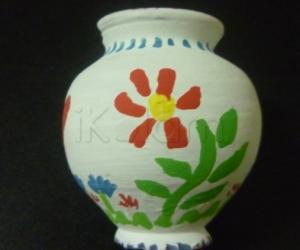 Rangoli: Small Pot