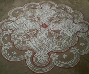 Rangoli: Makolam 3