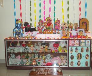 Rangoli: Golu for contest