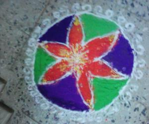 Rangoli: Diwali rangoli 2010
