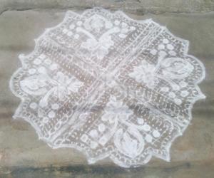 Rangoli: crochet style