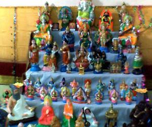 Rangoli: my kolu of this year