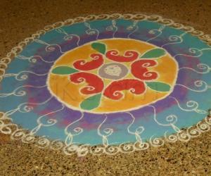 Diwali kolam Contest