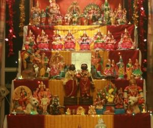 Rangoli: Navrathri Golu 2010