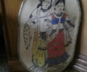Rangoli: My Radha-Krishna