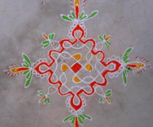 Kolam for Rani