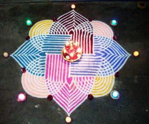 Diwali Rangoli Contest 2010