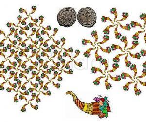 Rangoli: Happy Thanksgiving Day!