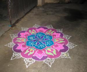 diwali rangoli contest - 2010