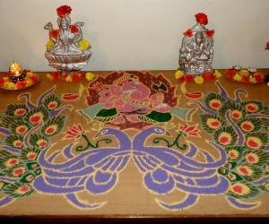 Rangoli: Happy DeepaavaLi