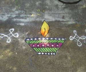 Rangoli: Deewali rangoli