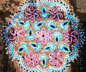 Rangoli for Diwali Contest 2010