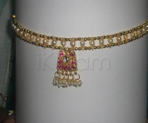 Rangoli: Artificial jewellery
