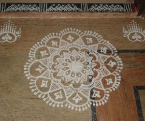 Friday kolam