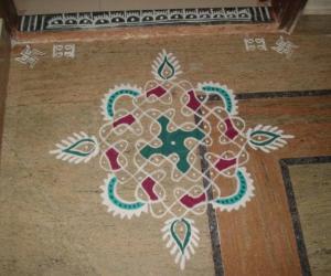 Rangoli: Margazhi kolam-27