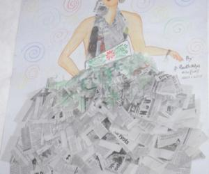 Rangoli: Newspaper work