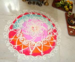 Rangoli: Carpet Rangoli