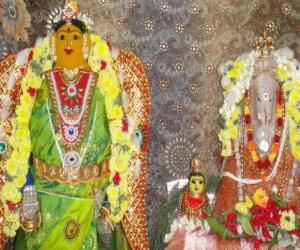 vinayagar and gowri pooja