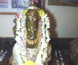Rangoli: Ganesh Statue