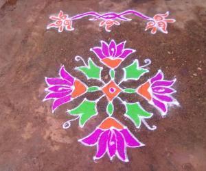Rangoli: Vinayaka Chaturthi