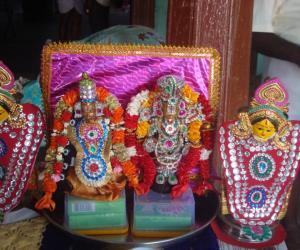 Rangoli: marappachi decoration