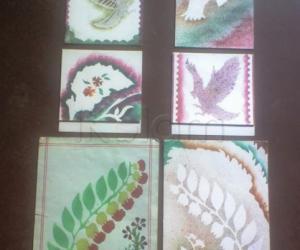 Rangoli: Greeting cards