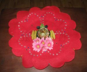 Rangoli: Thambulam Plate