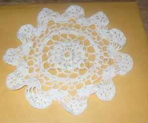 Rangoli: Crochet doily pattern
