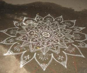 Rangoli: Inspiration theme