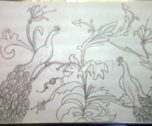 Rangoli: drawings