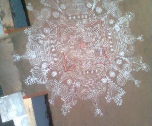 Traditional Kolam