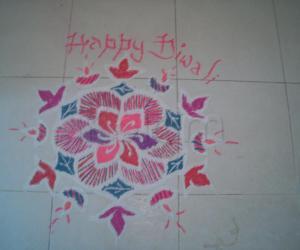 Rangoli: Diya