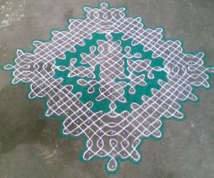Rangoli: Sikku Kolam - 89