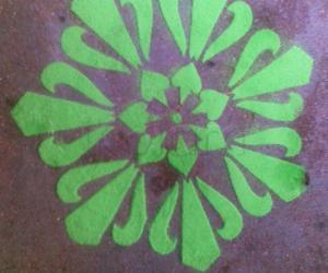 Rangoli: Stencil Design - 1